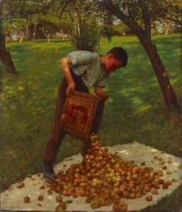 H.H. La Thangue. Cider Apples (1899)