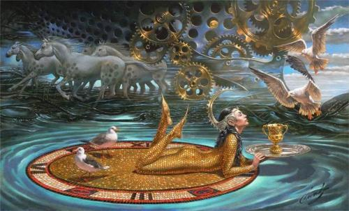 Michael Cheval_Zenith of Time_2009