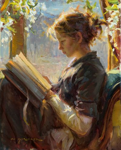 Daniel F. Gerhartz. The Garden Window