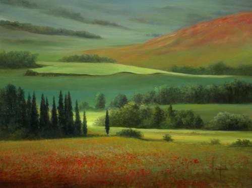 Dario Campanile. Toscana del sud