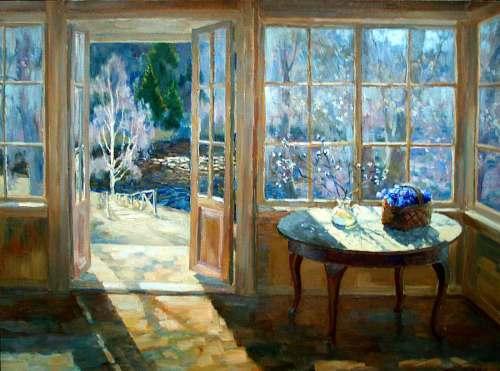 Oļegs Potapovs. Durvis uz pavasari