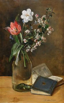 Anna Munthe Norstedt. Still Life with Spring Flowers (1892)