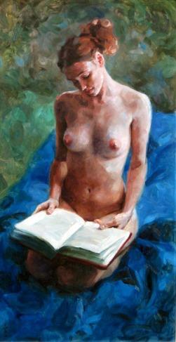 Miles Williams Mathis (1964) Blue Blanket