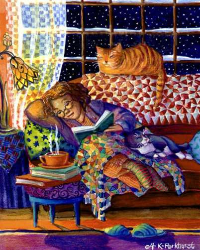 Kim Parkhurst. Cosy Night