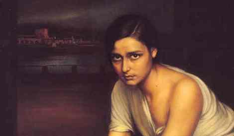 Julio Romero de Torres (Cordoba, 1874-1930). La Chiquita Piconera (1930) (fragments)
