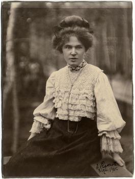 Aspazija (1905. gads, Jūrmala. Fotogrāfs: Jānis Rieksts)