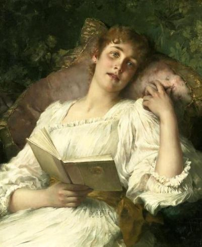 Conrad Kiesel (1846-1921). Day Dreaming