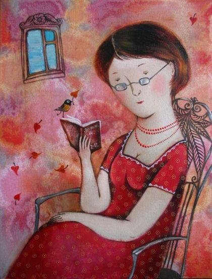 Anna Silivonchik. Reading in Spring