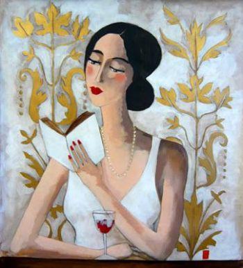 Marie Godest (19710 La jolie lectrice