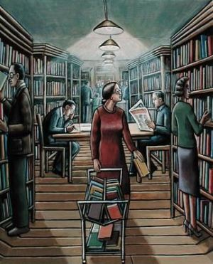 PJCrook_The Library
