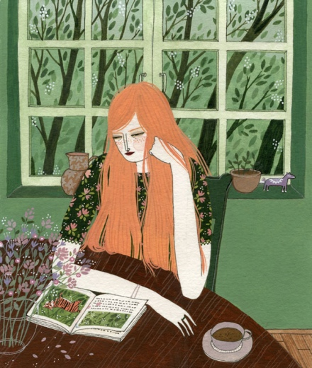 Yelena Bryksenkova.The Reader