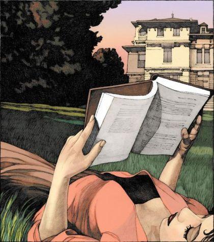Miles Hyman (1962) Summer reading (2010)