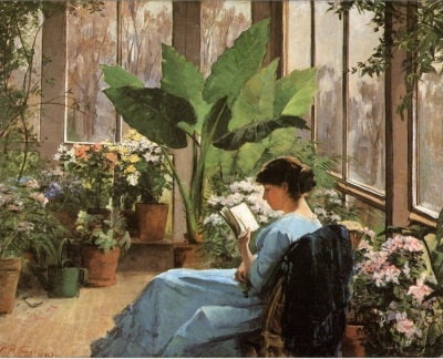 Frances (Jones) Bannerman. The Conservatory
