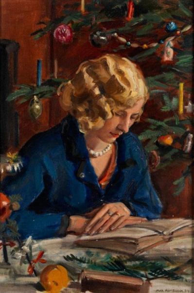 Max Rimböck (1890-1956) Weihnachtsmärchen.