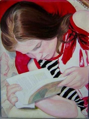 Lisa Schneider (1955) The Reader